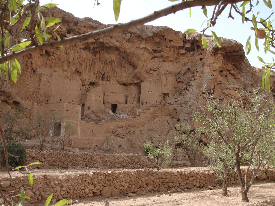 Grenier d'Ifri - Vue