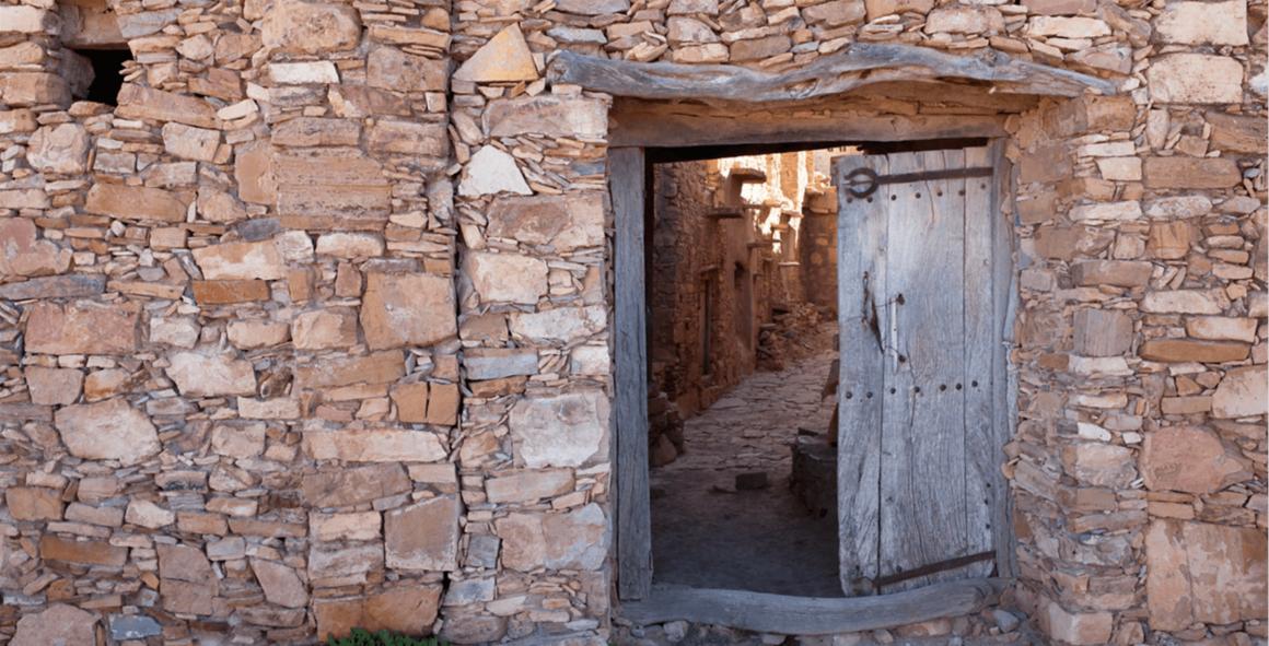 Grenier d'Inoumar - Porte