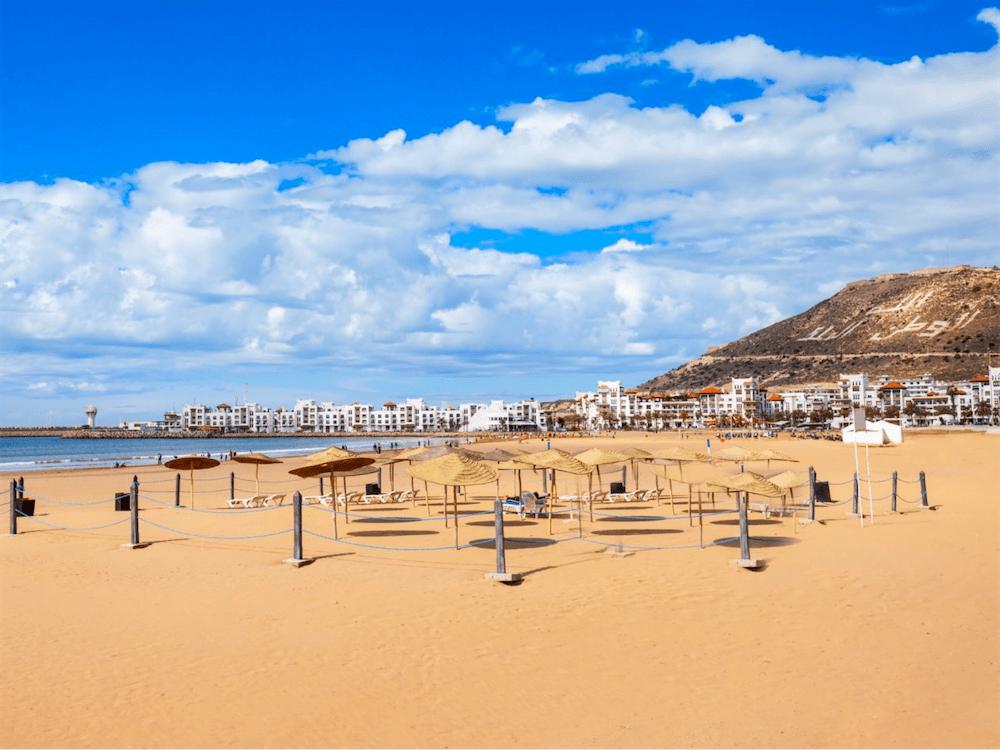 Plage centrale - Agadir