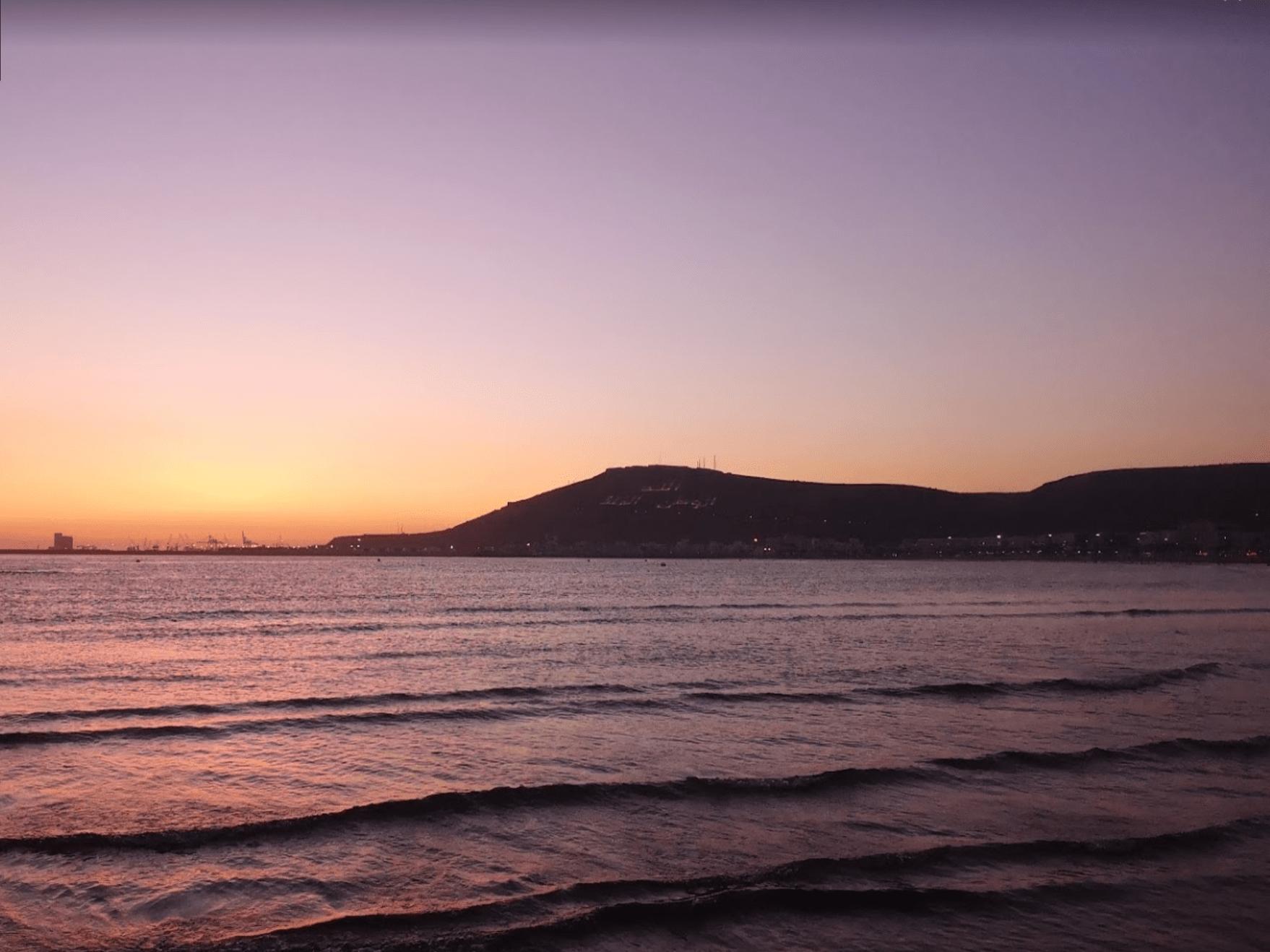 Coucher de soleil - Agadir