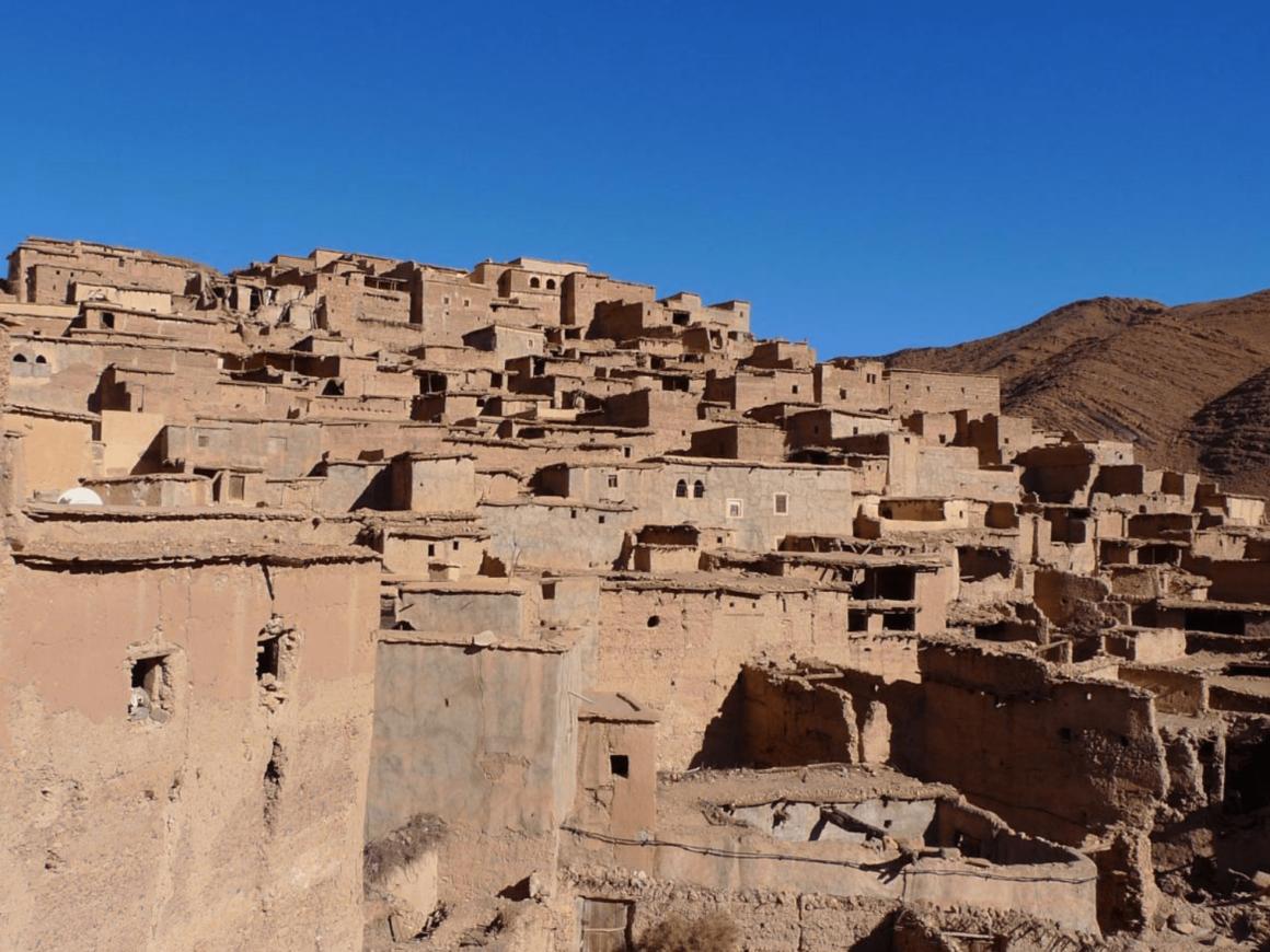 Village de Gdourt - Tafraoute