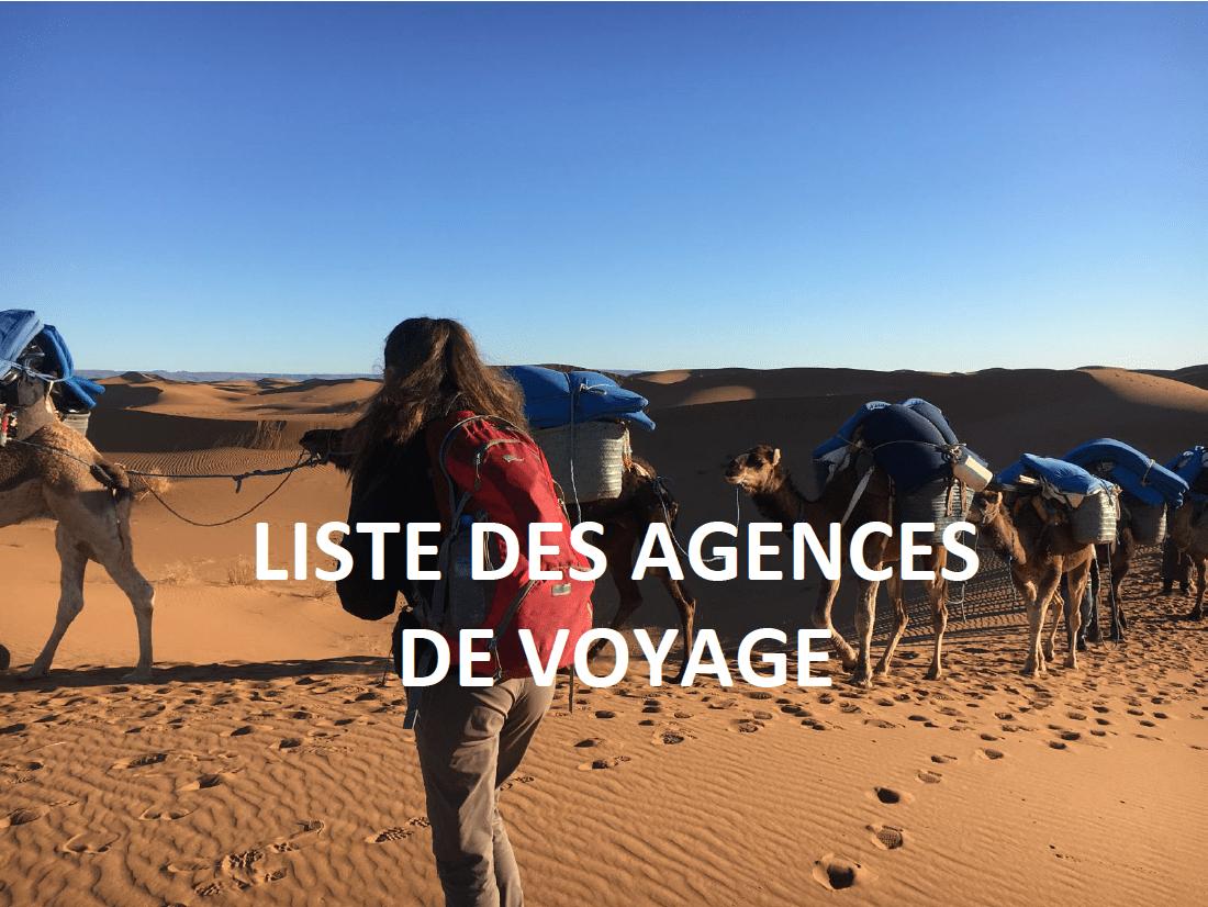 AGENCE DE VOYAGES - AGADIR