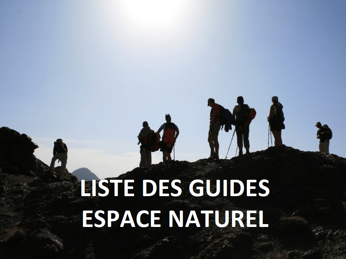 Guides - Espace Naturel