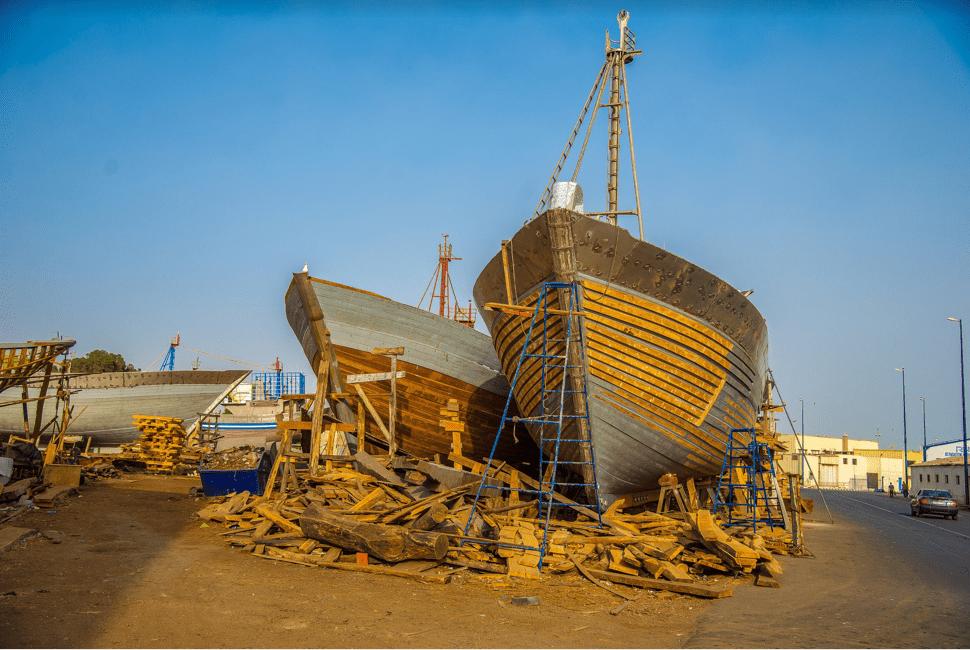 Chantier Naval - Port d'Agadir