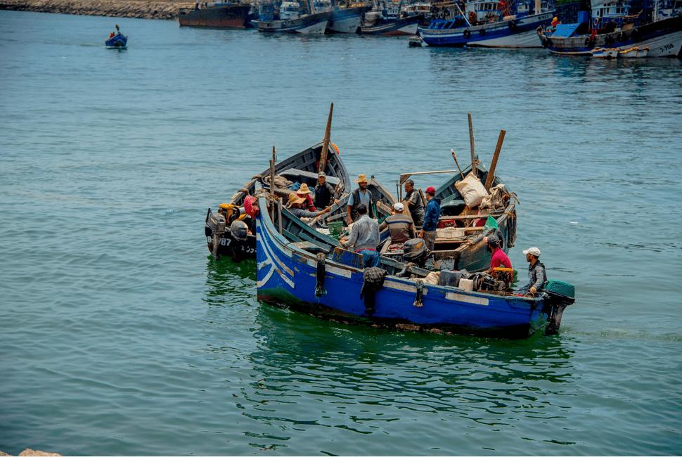 Pêcheurs d'Agadir