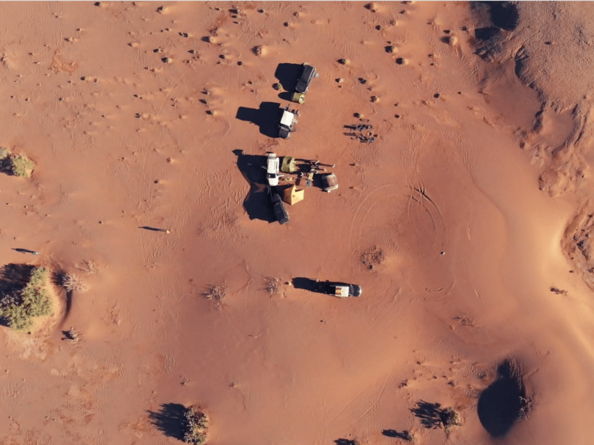 Zone de Bivouac - Dunes de Chegaga