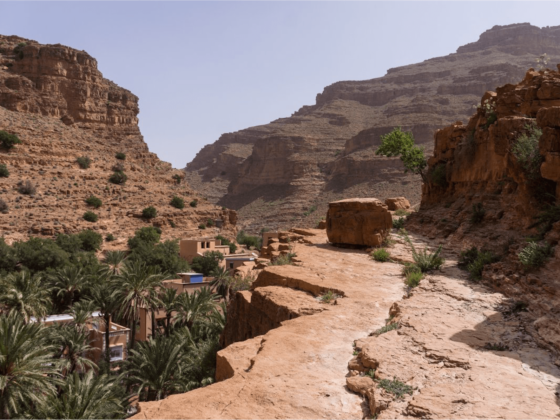 Balade - Gorges d'Ait Mansour