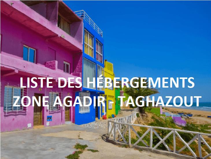 Logements Agadir & Taghazout