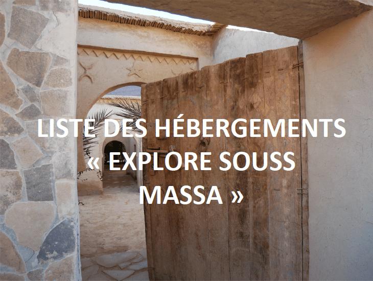"""Logements """"Explore Souss Massa"""""""